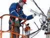 09 03 16 Специалисты Ярэнерго заменят более 1000 уличных светильников в городе Данилове на светодиодные. (2)