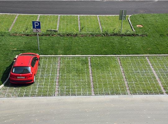 Как сделать парковку на грунте - Pumps.ru